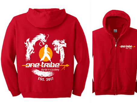 One Tribe Zipper Hoodies - NOW AVAILABLE