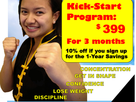 Introducing the KICK START Program!