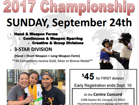One Tribe Martial Arts Championship - Sunday, September 24