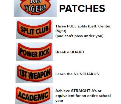Achievement Patches