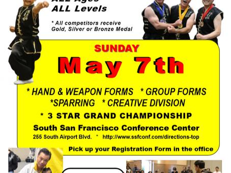 Tat Wong Kung Fu Championship - May 7