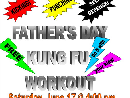 FREE Father's Day Workout