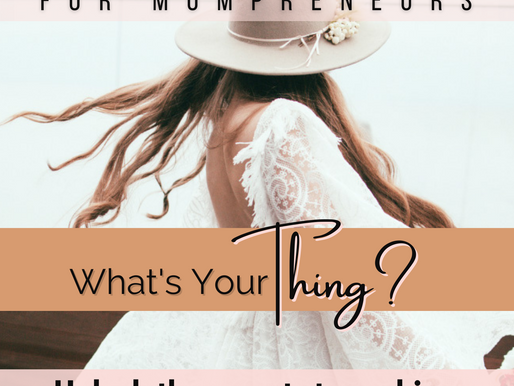 Just Start Guide for Mompreneurs