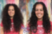 Deva Haircut TampaCustom Curly Haircut by Nicoles Curls, The curly hair specialist in Tampa, Fl