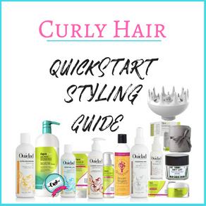 Quickstart Styling Guide for Frizz Free & Defined Curly Hair