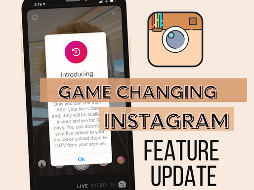 Instagram extends time limits on live streams, adds live archive feature.