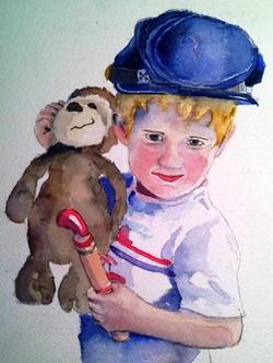 Wyatt and His Monkey