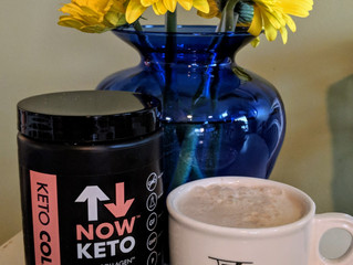Now Keto Morning Tea and Coffee