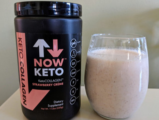 Now Keto Workout Recovery Shake