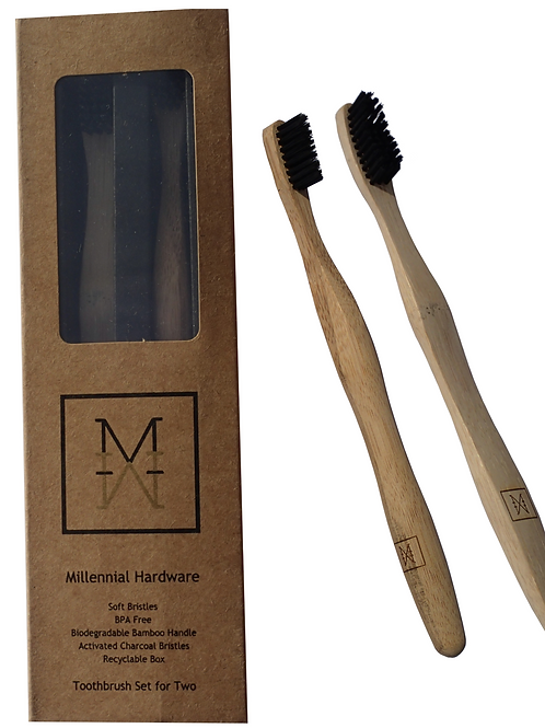 Millennial Methods Bamboo Toothbrush