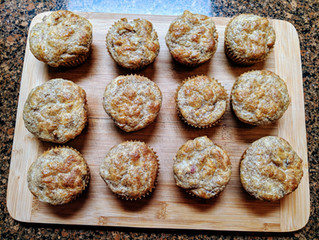 Bacon and Cream Cheese Muffins
