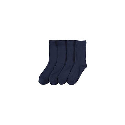 Navy Blue Socks 4 Pack