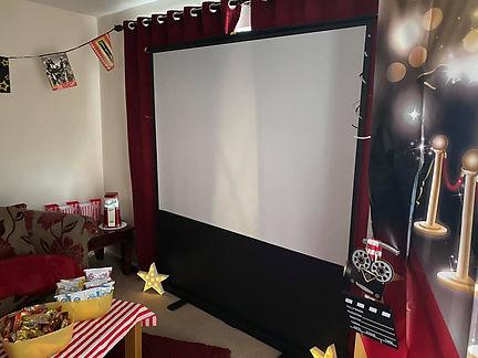 Glamping Dreams Home Cinema Experience Chorley