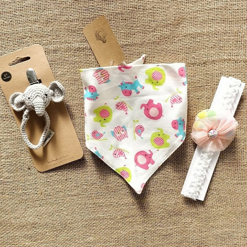 Sweet Elephant Baby Gift Bundle