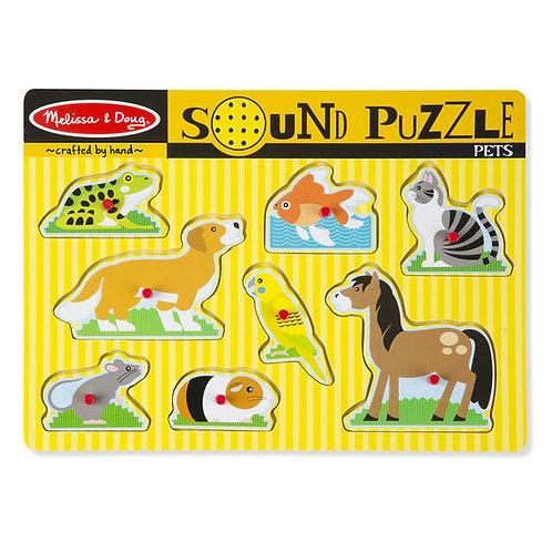 Melissa & Doug Pets Sound Puzzle