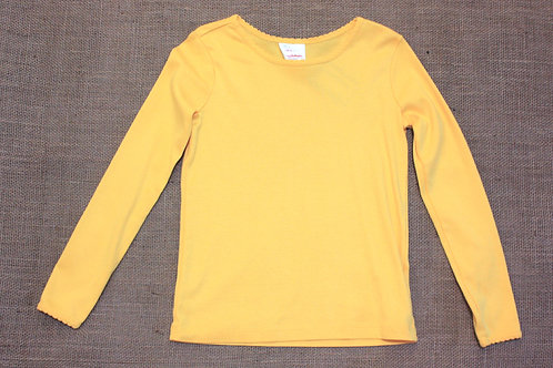 Hanna Andersson T-Shirt - Yellow - Size 130