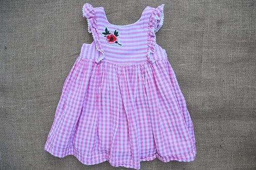 Laura Ashley Dress - Pink - 2T