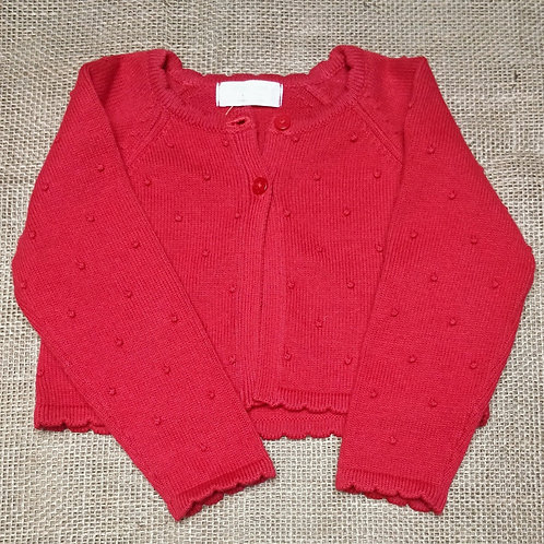 Mayoral Cardigan - Red - 6-9 Months