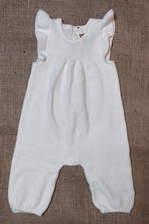 Baby Gap Knit Romper - Cream -  3-6mo