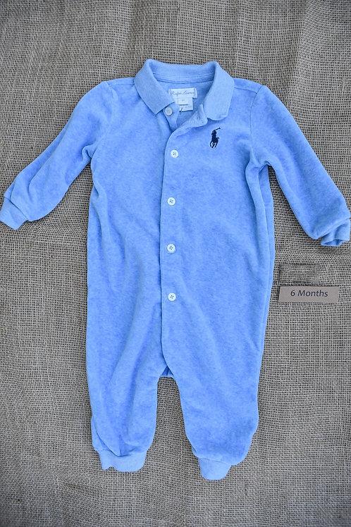 Ralph Lauren Romper - Blue - 6 months