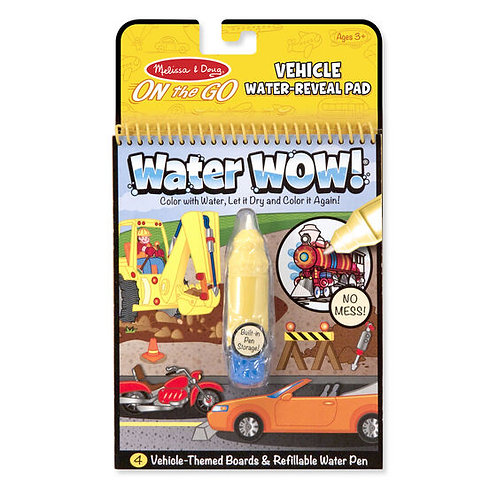 Water Wow! Vehicles Water-Reveal Pad