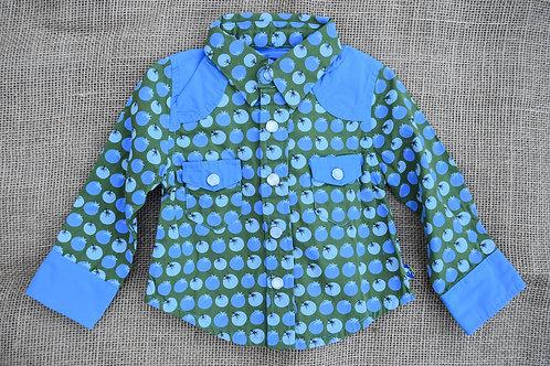 Kickee Pants Shirt - Green - 3-6 months