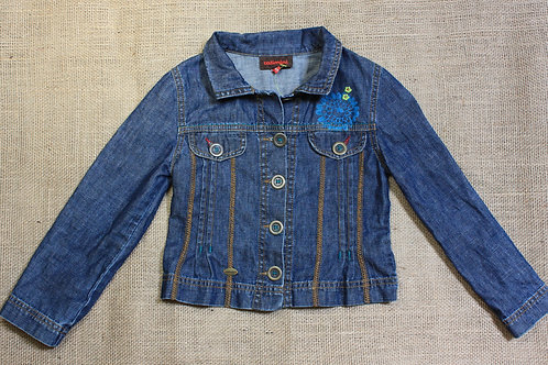 Catimini Denim Jacket - Blue - Size 6