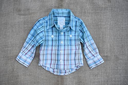 Peek Little Peanut Shirt - Blue - 3-6 months