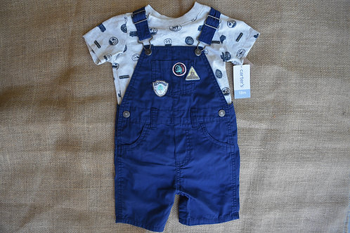 Carter's Outfit - Blue - 18 months