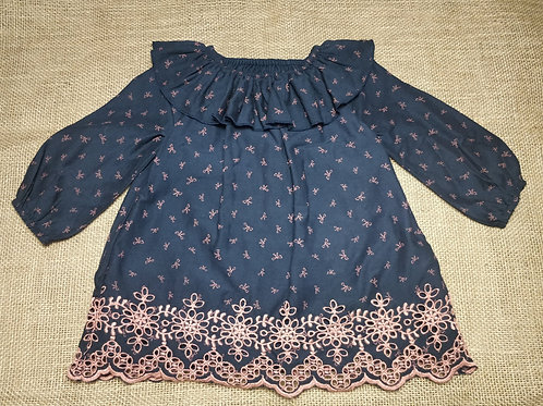 Baby Gap Dress - Navy Blue - 6-12 Months