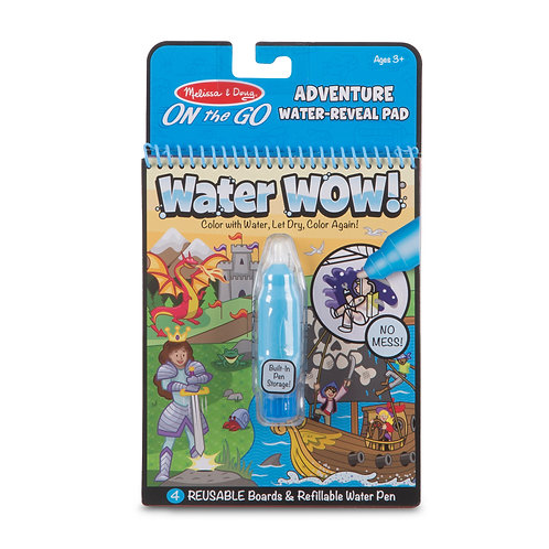 Melissa & Doug Water Wow! - Adventure Water Reveal Pad