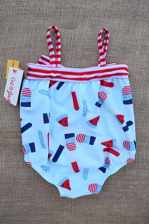 Cat & Jack Swimsuit - Blue - 3-6 months