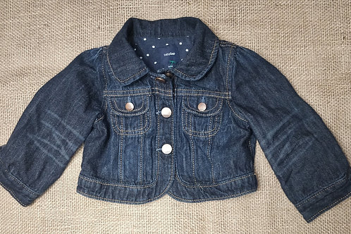 Baby Gap Denim Jacket - Blue - 6-12 Months