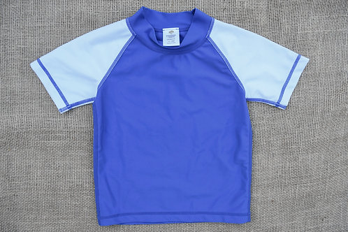 Tucker + Tate Rash Guard - Blue -12-18M