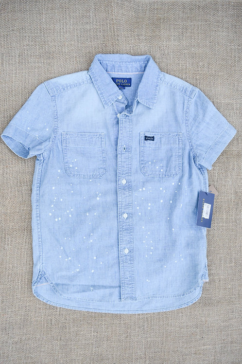 Polo Ralph Lauren Shirt - Blue - 6Y