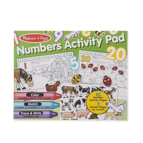 Melissa & Doug Numbers Activity Pad