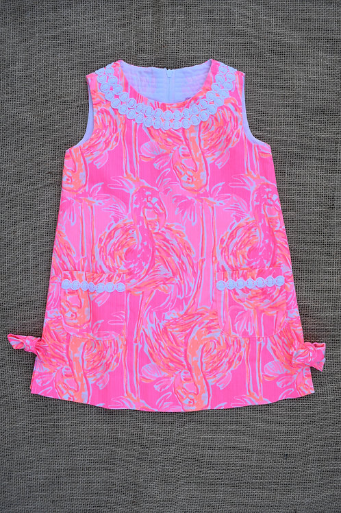 Lilly Pulitzer Girls Dress - Pink - 2 years