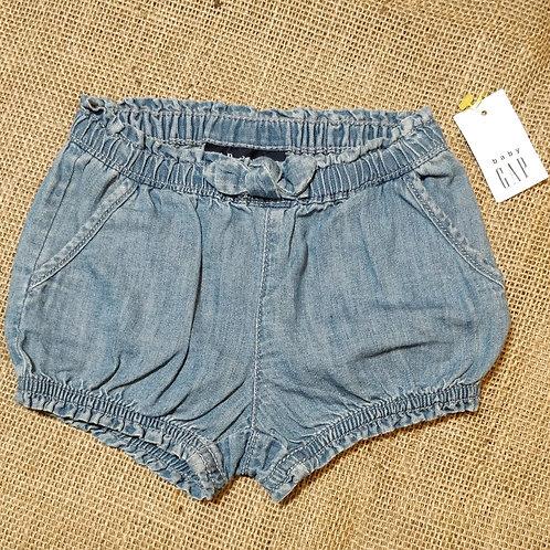 Baby Gap Shorts - Blue -  3-6mo