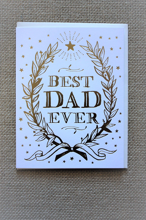 Best Dad Ever - Hello! Lucky Greeting Card