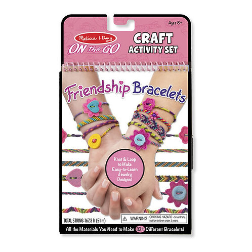 Melissa & Doug On the Go Crafts - Friendship Bracelets