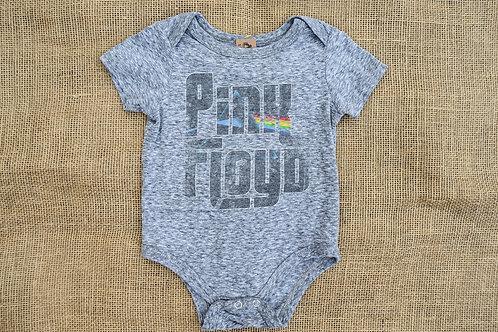 Pink Floyd Onesie - Gray - 6-9M