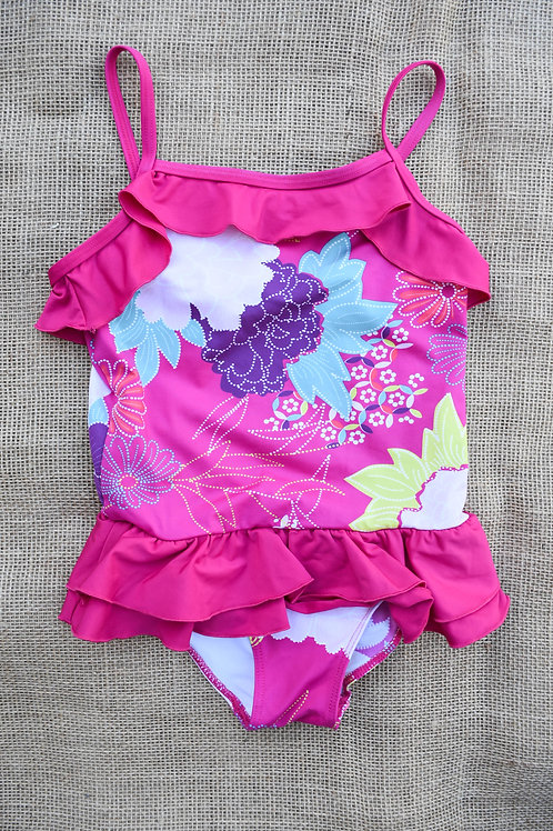 Tea Collection Swimsuit - Pink -Size 5