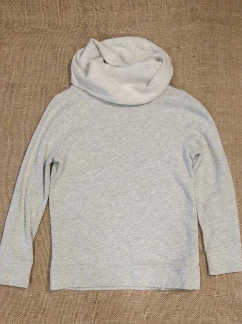 Crewcuts Cowl Neck Sweatshirt - Heather Cream - Size 10
