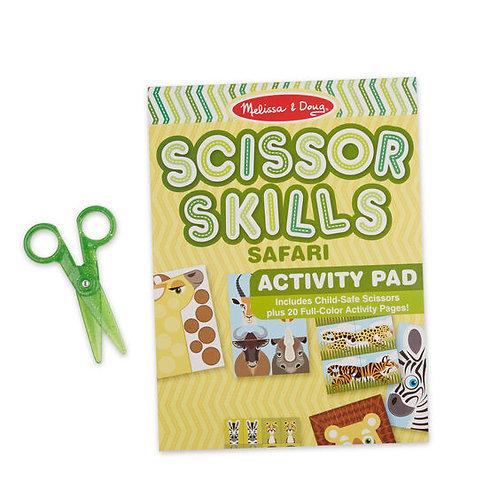 Melissa & Doug Safari Scissors Skills Activity Pad