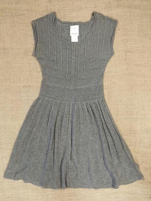 Ella Moss Knit Dress - Gray - Size 10