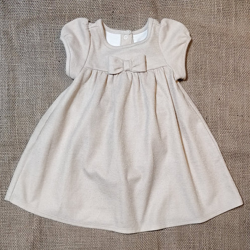 Janie & Jack Dress - Tan - 3-6 Months