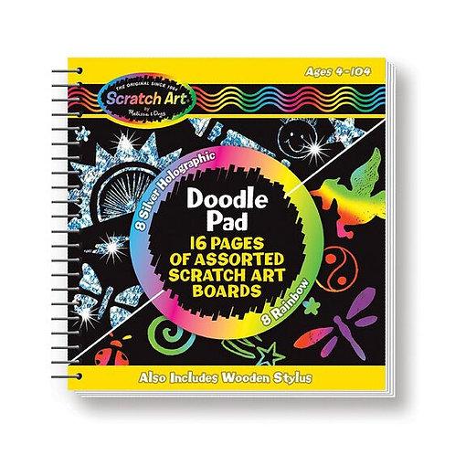 Melissa & Doug Scratch Art® Doodle Pad Book