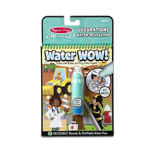 Melissa & Doug Water Wow! Occupations Water-Reveal Pad