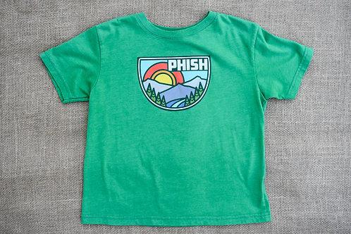 Phish T-Shirt - Green - Size 5/6