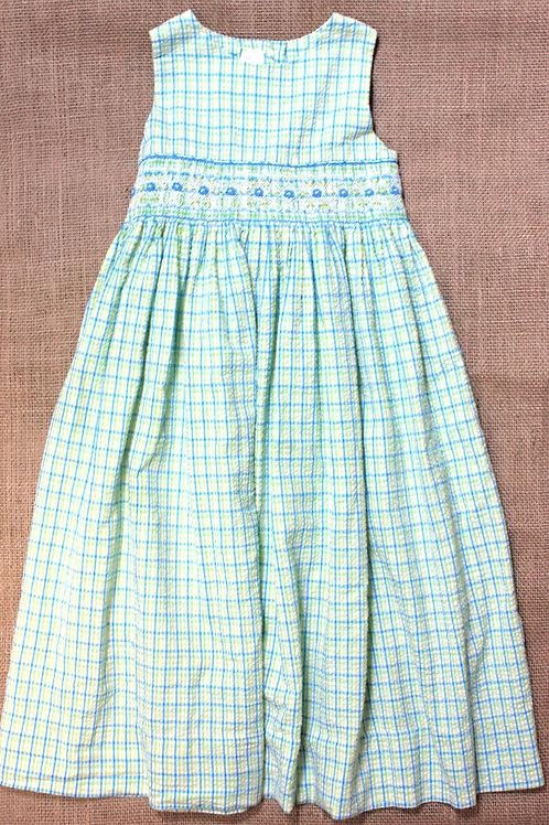 Strasburg Dress - Green - 5Y